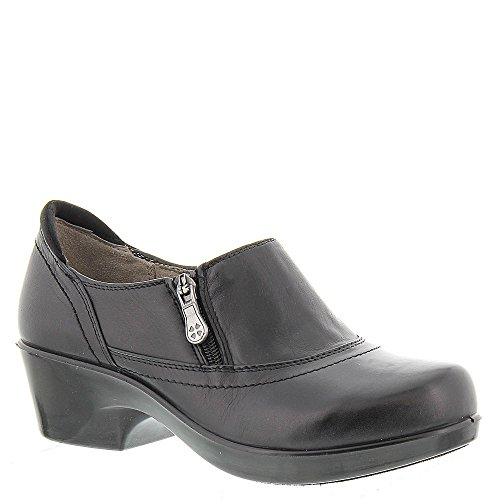 Naturalizer Women's Florence Black Leather Clog/Mule 8 M - Stores Outlet Florence