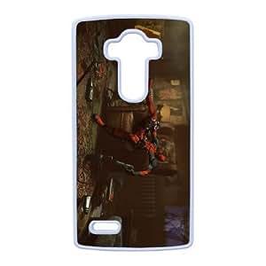 LG G4 Phone Case White Deadpool VMN8139644