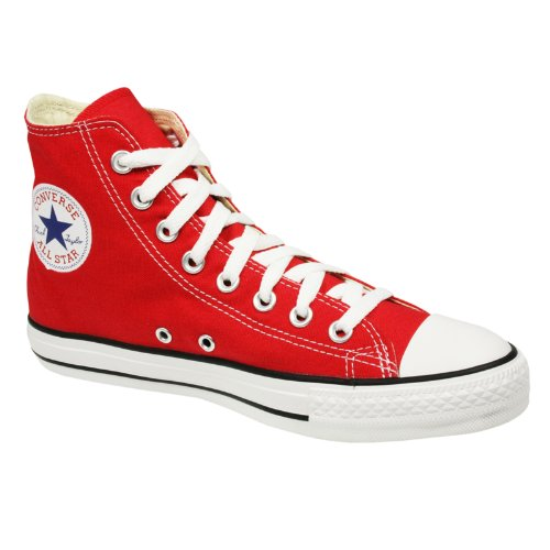 "Converse Chucks ""All Star HI Chucks"" red Größe 42 1/2"