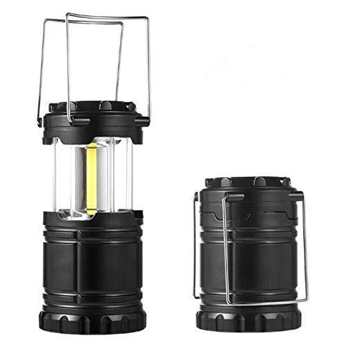 Subminiature Lamps - XINZ Subminiature Set of 2 Emergency Lantern LED Camping Survival Lamp Hurricane Power Outage Lights Storm by Battery Operated Indoor Outdoor Flashlight | Military Grade