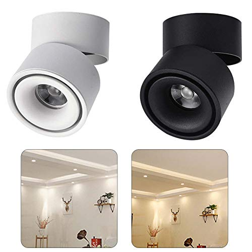 ([LED Light]-Clearance Deals-3 15W Folding LED Surface Mounted Downlight Fixture Home Wall Ceiling Light Lamp,Christmas Lights)