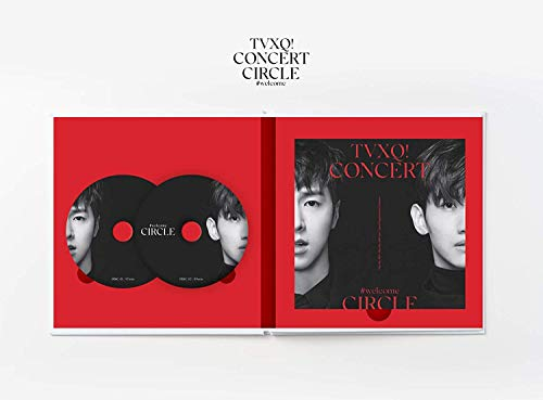 SM Entertainment TVXQ (東方神起) - TVXQ! Concert -Circle- #Welcome DVD 2DVD+Photobook+4Photocard+Folded Poster by SM Entertainment (Image #3)
