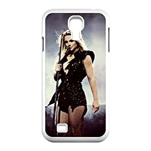 C-EUR Customized Britney Spears Pattern Protective Case Cover for Samsung Galaxy S4 I9500