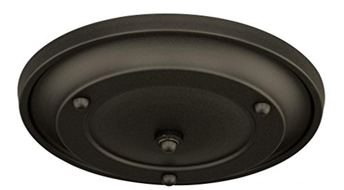 Vaxcel P0062 Multiple Pendant Holder Canopy Kit, Small, Oil Rubbed Bronze Finish by Vaxcel ()