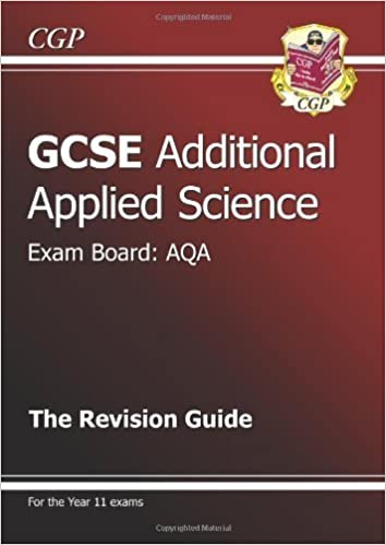 Book GCSE Additional Applied Science AQA Revision Guide of Parsons, Richard on 07 September 2012