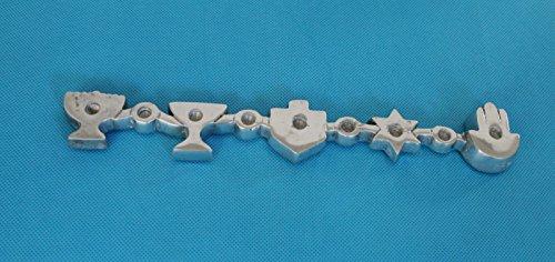 Aluminum Dreidel - 9