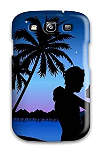 Fashion Protective Lovers Love Romances Case Cover For Galaxy S3