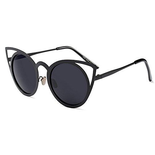 Vacaciones Conducir Sol Graceful para Verano de Cat Playa Gafas Peggy UV Mujer Eyes de Gu protección Negro Aw7nqCO