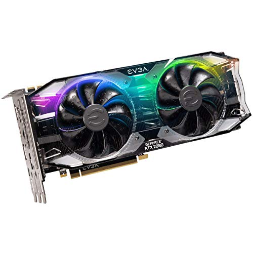 EVGA GeForce RTX 2080 XC ULTRA GAMING, 8GB GDDR6, Dual HDB Fans & RGB LED Graphics Card 08G-P4-2183-KR