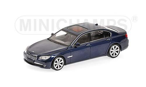 BMW 7er F02 2008 blau
