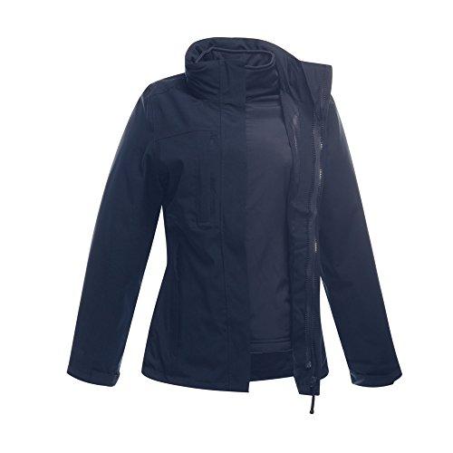 Regatta - Chaqueta impermeable 3 en 1 mdoelo Kingsley para mujer Azul marino