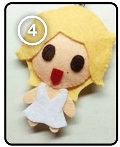 [SJ Super Junior Sungmin - Marilyn Good Friends SS4 [Fancy Costume] KPOP Handmade Doll Keychain] (2ne1 Kpop Costumes)