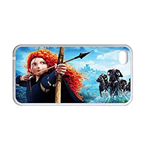 Generic Love Back Phone Case For Child Print With Pixar Brave For Apple Iphone 4 4S Choose Design 2