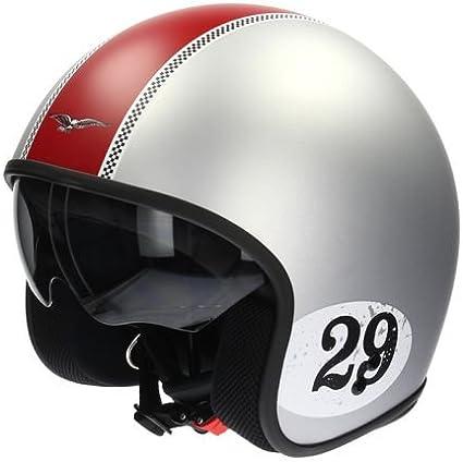 Amazon.es: Original Moto Guzzi Casco Jet – Racing 29 chromo