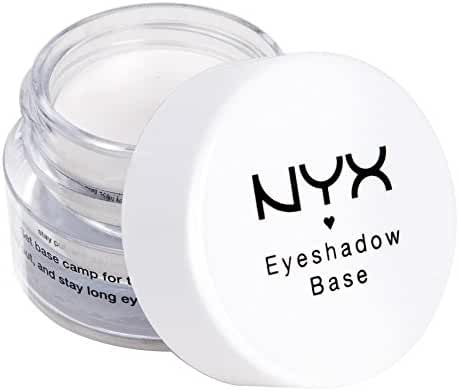 NYX Cosmetics Eye Shadow Base, White, 0.25 Ounce