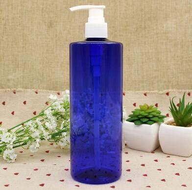 bagno ricaricabili 2 flaconi vuoti da 500 ml lozione shampoo in plastica con pompetta a pressione di colore casuale per la testa gel doccia