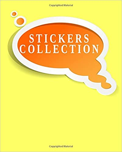 Stickers Collection: Blank Sticker Book, 8 X 10, 64 Pages Download Pdf