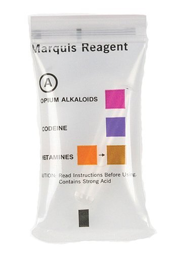 Reagent Kit (NIK Drug Test Kit - A General, Marquis Reagent (Box of 10) by NIK Public Safety)