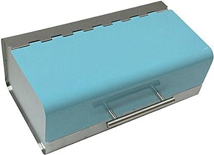 Anika - Panera de Acero Inoxidable, Color Azul