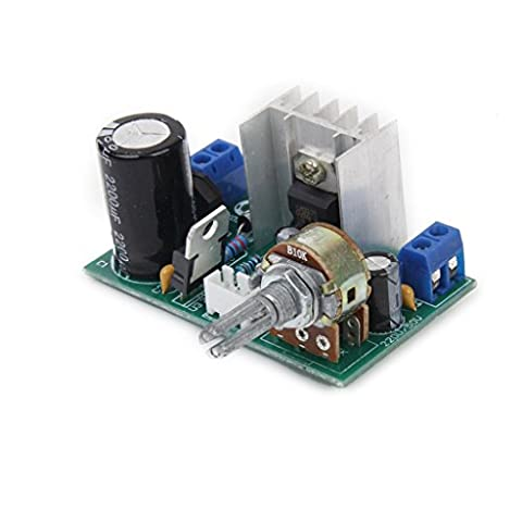 MagiDeal AC/DC 3-40V LM317 Adjustable Voltage Regulator Step-down Power Supply