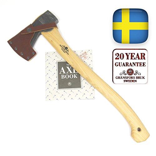 Gransfors Bruks Small Forest Axe 19 Inch, Made In Sweden, 420