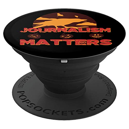 Journalism Matters #NotTheEnemy HALLOWEEN Free Press News - PopSockets Grip and Stand for Phones and Tablets -