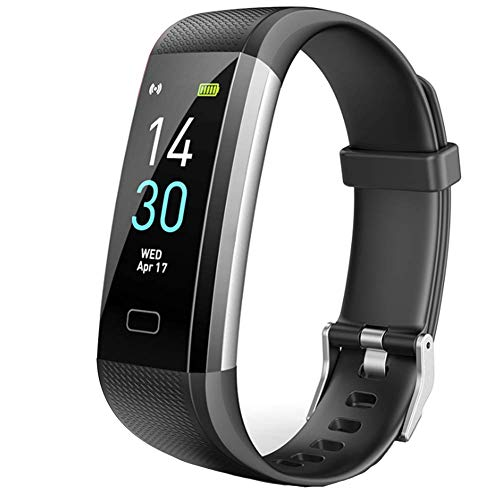Lugang Bluetooth Activity Tracker,Smart Watches with LCD Touch Screen And Heart Rate And Blood Pressure Monitoring,Daily…