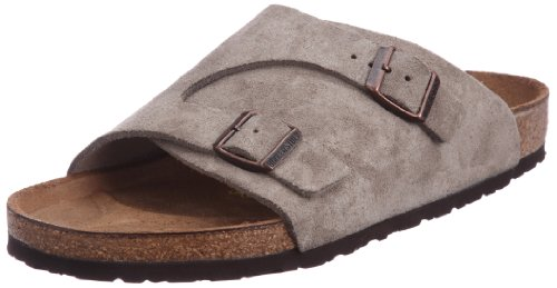 Birkenstock Women's Zurich Wool/Leather Sandal,Taupe,39 EU/8 N US by Birkenstock