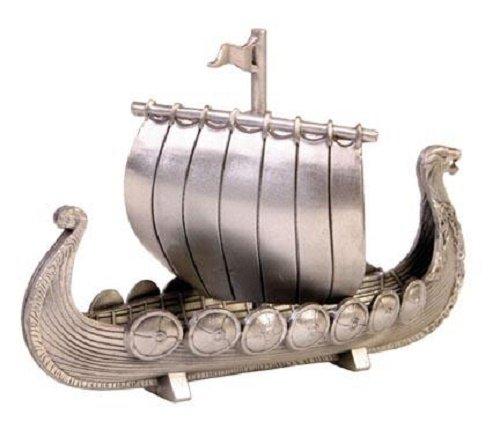 Norway Pewter Viking Ship ()