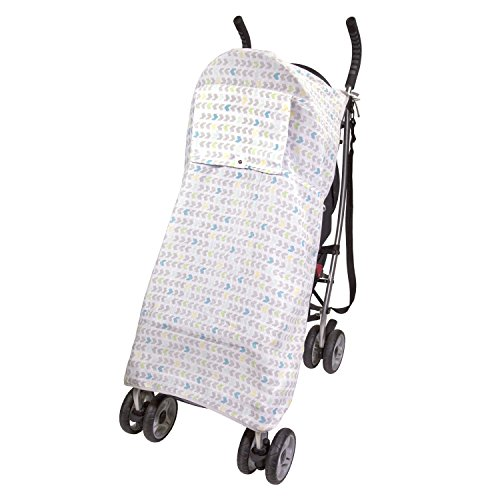 Summer Infant Muslin Stroller Blanket, Arrow Stripe