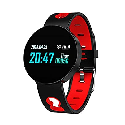HFDCVSmart Waterproof Sports Bracelet Blood Pressure Heart Rate Measurement Sleep Monitor Pedometer with Bluetooth 4 0 Smart Wristband Black Estimated Price £38.75 -