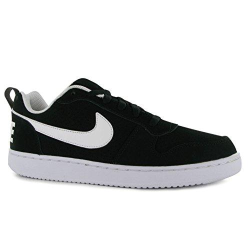 Nike Court Borough Low Scarpe Nero/Bianco Casual Sneakers Calzature
