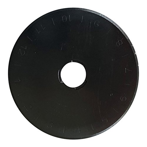 Rotary Cutter Blades 45mm 10-Pack - Fits Fiskars, Olfa, Dremel, Truecut, Martelli - Replacements for Quilting Scrapbooking Sewing Arts Crafts Msquared 4336996753