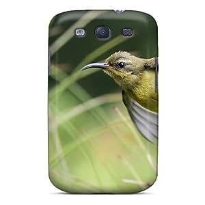 Galaxy S3 QNqFDRn4575HNwuj Cute Little Bird On A Stalk Tpu Silicone Gel Case Cover. Fits Galaxy S3
