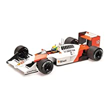 McLaren Honda MP4-4 (Ayrton Senna - World Champion 1988) Diecast Model Car