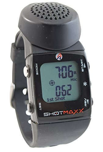 Shotmaxx-2 Shot Timer - White Display (Shot Activated Timer)