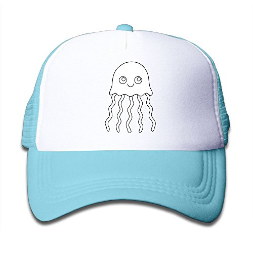 Elephant AN Cute Jellyfish Mesh Baseball Cap Kid Boys Girls Adjustable Golf Trucker Hat