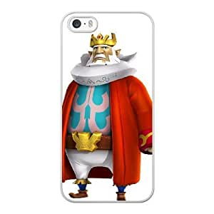 HD Beautiful image for iPhone 5 5s Cell Phone Case White The Legend of Zelda King Daphnes Nohansen Hyrule MLA7211705