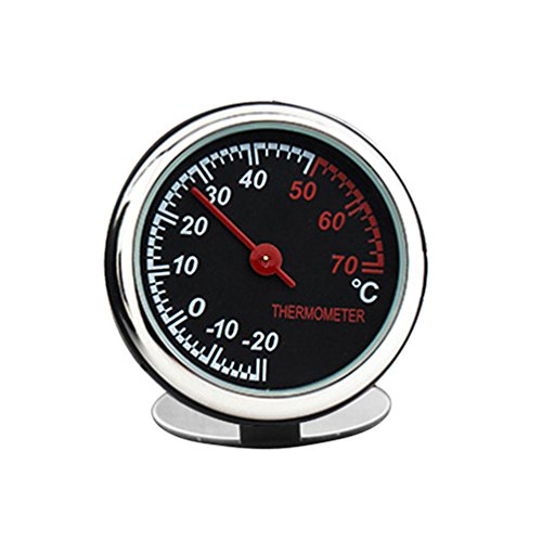 idain Car Dashboard Thermometer - Mini Vehicle Thermometer Decoration Air Vent Cilp by idain (Image #6)