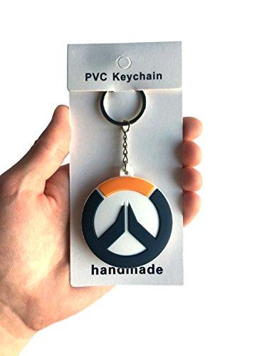 Overwatch Double Sided 3D Keychain 12 cm (Logo)