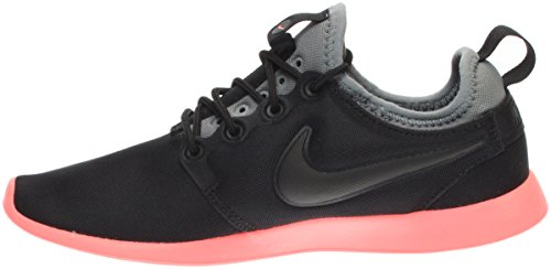 Nike Damen W Roshe Two Turnschuhe Schwarz (nero / Nero / Grigio Freddo / Lava Glow / Bianco)