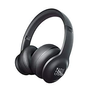JBL Everest Elite 300 NXTGen Noise-Canceling Bluetooth On-Ear Headphones, Black