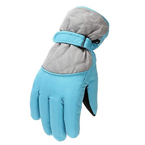 Risaho Skihandschuhe Winterhandschuhe, Wasserfeste Winddicht Winter Handschuhe mit Feste Baumwolle und Baumwolle mit hoher Dichte für das Wintersport