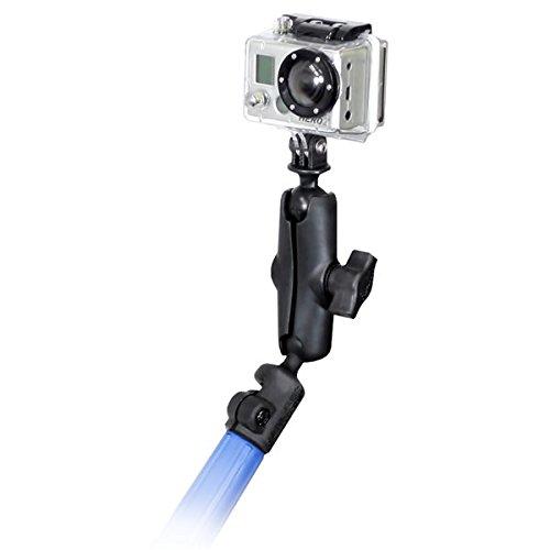 RAM Mounts (RAP-B-218-1-GOP1U) Tele-Mount Telescoping Camera Pole Kit with Custom Gopro Hero Adapter