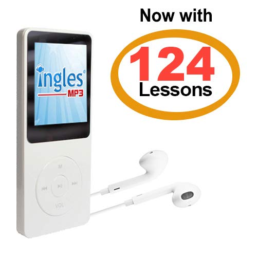 INGLES MP3: English Course Mp3, Learn English in 3 Months, English Course (Includes Compact mp3 Player with 124 Lessons + Guide Book)