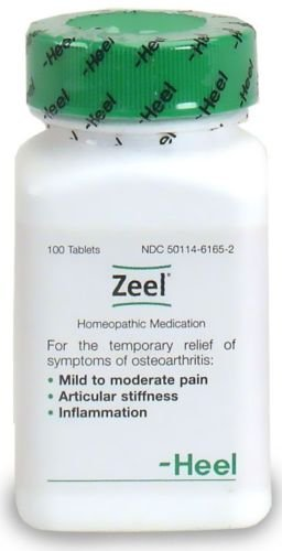 Heel Homeopathic ZEEL Arthritis Pain Relief 100 - 100 Arthritis Tabs