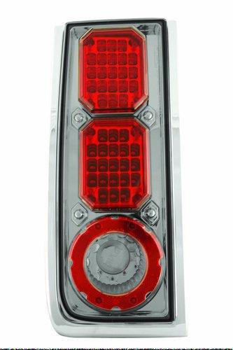 IPCW LEDT-343CS Platinum Smoke LED Tail Lamp - Pair