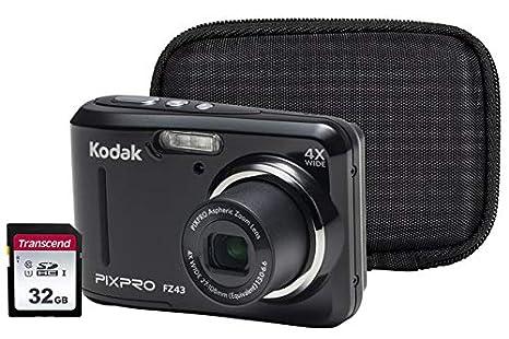 Kodak PIXPRO FZ43 - Kit de cámara (Incluye Funda y Tarjeta ...