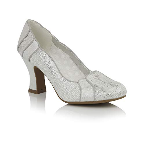 Zeppa Shoo White Ruby Con Sandali silver Donna CPvq1x
