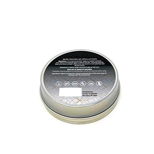 Organic Full Spectrum 1000mg Hemp Salve (No THC) 2oz by TerraSol (Image #1)